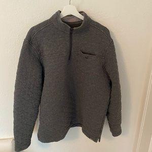 Eddie Bauer quilted pullover